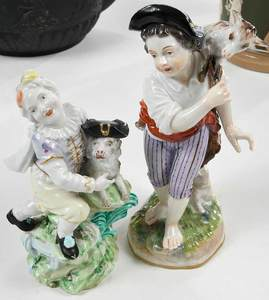 Four Ceramic Table Items