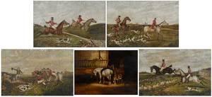 Five British School Sporting Paintings