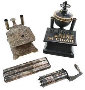Group of Vintage Cigar Accessories