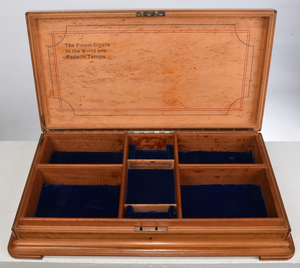 Large Maple Presentation Cigar Box