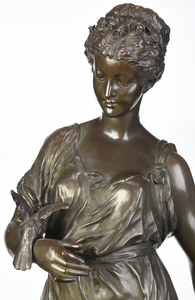 French School Allegorical Bronze