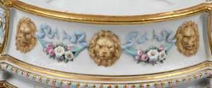 Fine German Three Tiered Figural Centerpiece