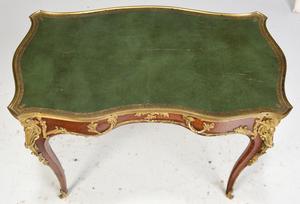 Fine Louis XV Style Ormolu Mounted Writing Table