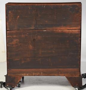 American Chippendale Walnut Slant Front Desk