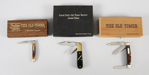 Three Schrade Old Timer Knives