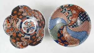 Six Finely Decorated Imari Bowls and Platters