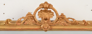 Pair of French Victorian Carved and Gilt Mirrors