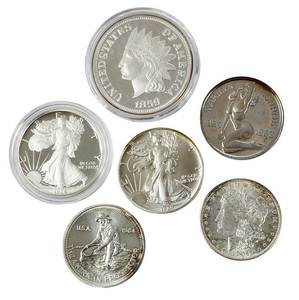 Silver Bullion Lot