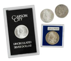Silver Dollar Lot
