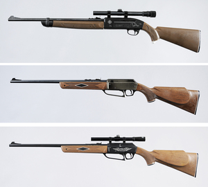 Three Air Rifles, Crosman and Power Line