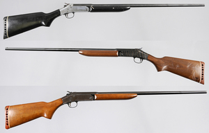 Three Harrington & Richardson Topper .410 Shotguns