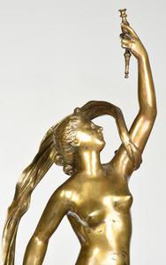 Grand Tour Bronze and Pedestal