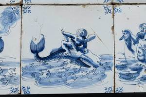 27 Maritime Delft Tiles