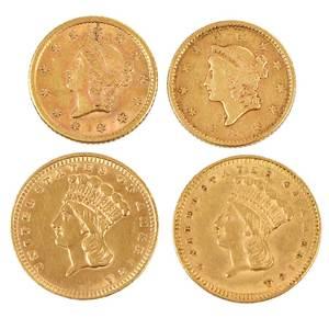 45 U.S. Gold Dollars