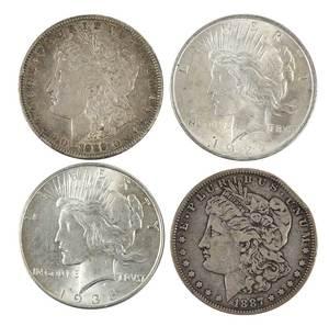 U.S. Silver Dollar Lot