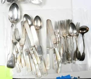 39 Pieces Silver Flatware