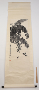 Four Chinese Scrolls Depicting Birds