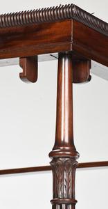 Charleston Federal Mahogany Tall Post Bed