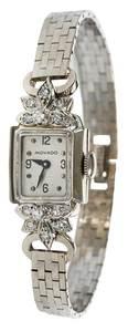Movado 14kt. Diamond Watch