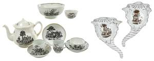 Twelve Pieces Tea Party Ceramics
