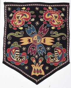 Three Uzbekistan Embroidered Panels