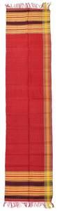 Handwoven Madras Pattern Silk Panel