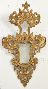 Near Pair Venetian Rococo Style Wall Mirrors