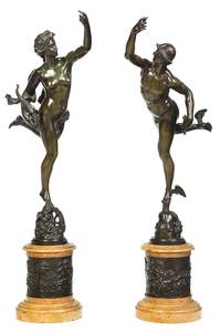 Two Grand Tour Bronzes after Giambologna