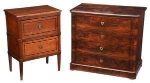Two Period French Chests of Drawers