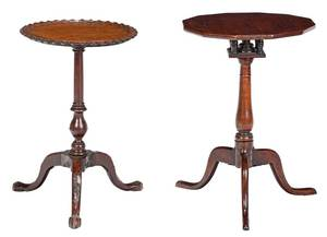 Two Period Tripod Candle Stands