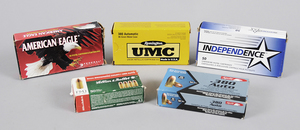 .380 Auto Ammunition Assorted Manufacturers