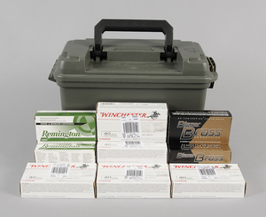 .40 S&W Ammunition Assorted Manufacturers