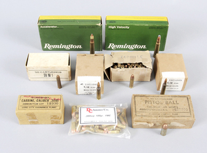Assorted Boxes of  Ammunition