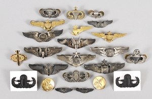 23 US Military Aviation Wings, Explosive Ord. Pins