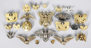 23 US Military Eagle Emblems Insignia and Others