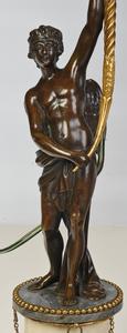 Fine Pair Louis XVI Figural Candelabras