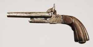 Continental Pinfire Double Barrel Pistol