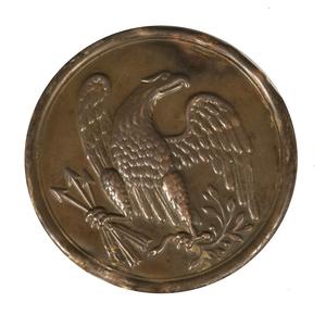 Civil War Union N.C.O. Eagle Plate