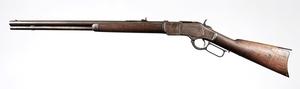 Winchester Model 1873 Kings Improvement Rifle