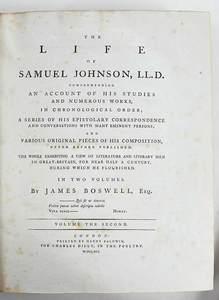 The Life of Samuel Johnson, LL.D.