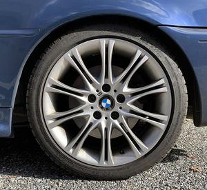 2005 Blue BMW 330CI Convertible, MSport (ZHP)