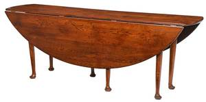 Irish Queen Anne Style Wake Table
