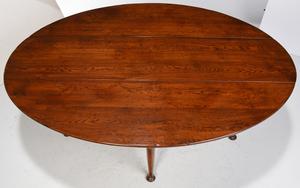 Irish Queen Anne Style Wake Table
