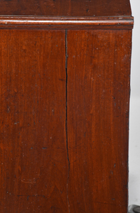George II Figured Walnut Chest of Drawers