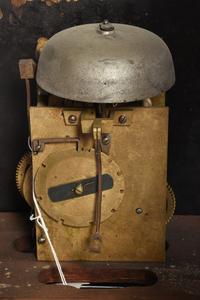 Early Georgian Inlaid Oak Tall Case Clock