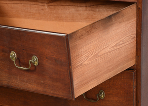 Pennsylvania Chippendale Walnut Chest on Frame