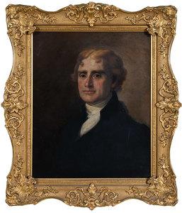 Thomas Jefferson Portrait, after Gilbert Stuart