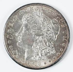 1886-S Morgan Dollar