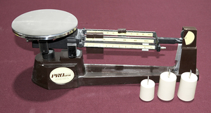 Pro Gram Scale with Three Weights