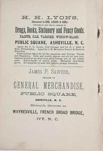 Two Scarce Western North Carolina Titles